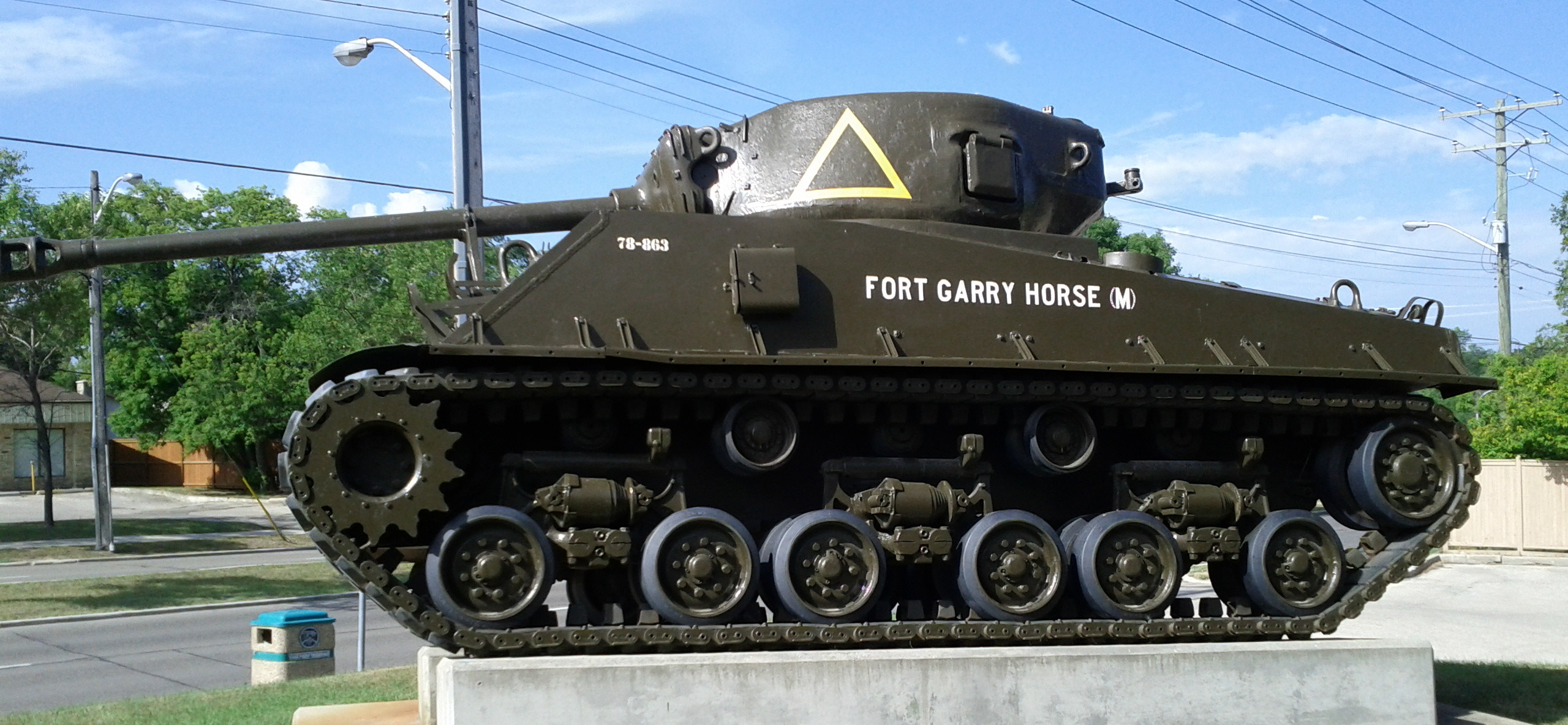 charleswood legion tank